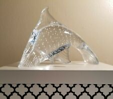 Marcolin Art Crystal Handmade Bubble Fish