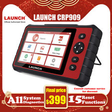 LAUNCH X431 Scanpad Full Systems Car OBD2 Fault Code Reader Diagnostic Tablet