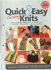 KNITTING PATTERN 12 Quick & Easy Christmas Knits Santa Hat Pudding Cosy Scarf