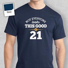 21st Birthday Gift Present Idea For Boys Dad Him Men T Shirt 21 Tee Shirts