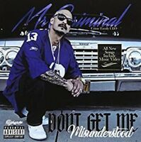 Mr Criminal - Don't Get Me Misunderstood [New CD] Explicit