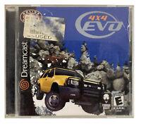4x4 EVO Sega Dreamcast Off Road Racing Video Game Complete CIB