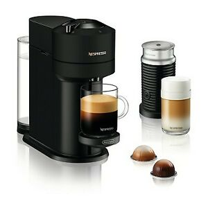 Nespresso Vertuo Next Coffee and Espresso Machine Bundle by De'Longhi - Limited