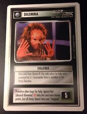 Star Trek CCG Premiere WB Unlimited Sarjenka