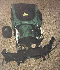 Kelty Trekker 3900 ST External Frame Backpack and REI Duck's Back 80 Rain Cover
