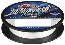 Berkley Whiplash Crystal 500m / 0,15mm / 18,5Kg Geflochtene Schnur Weiß