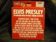 NEW ELVIS PRESLEY: 10 Golden Records 45 10 PS 45s box picture sleeves
