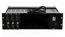 DBX 900A Rack Frame w/ Three DBX 902 De-Essers U076482