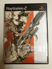 Metal Gear Solid 2: Sons of Liberty (Sony PlayStation 2, 2002) - UK Version