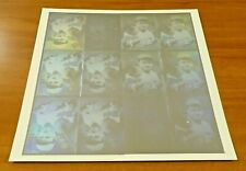 Babe Ruth Uncut Sheet of 12 Hologram Cards