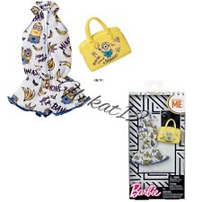 Barbie Despicable Me Minion Banana Jumper Deluxe Fashion Pack And Accessories