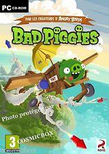 BAD PIGGIES par les créateurs d ANGRY BIRDS jeu d'adresse PC version Française