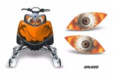 Headlight Eye Graphics Kit Decal Cover For Arctic Cat M Series Crossfire SPLCE O