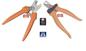 MILLERS FORGE PRO PET Grooming ERGONOMIC Orange Handle NAIL CLIPPER Claw Trimmer