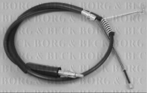 BORG & BECK HANDBRAKE CABLE FOR A FORD TRANSIT BUS 2.2 103KW