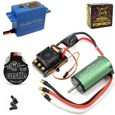 Castle Creations 1/8 Sidewinder 8th ESC 2200kV Motor + Savox 0231MG Servo