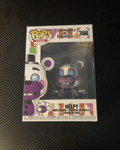 Helpy Funko Pop! Vinyl Figure FNAF Rare Vaulted #366 Pop Games Scott Cawthon