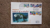 AUSTRALIAN FDC ALPHA STAMP ISSUE FIRST DAY COVER, 1999 NATURE, SEA TURTLE