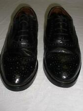 SAXONE by CLARKS MENS BOYS BLACK FORMAL SHOES SIZE 40 HARVARD SIZE 6