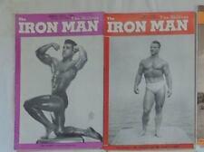 vintage bodybuilding magazine - The Iron Man - 1949 - TTBE