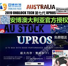 安博盒子 UPROS 澳大利亚第7代 澳洲UNBLOCK TECH TV BOX  海外华人国内最强中文最火电视盒子 授权经销商 中港台頻道 (国际越狱版)现货