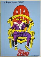 POWER PIN-UP Print - BARON ZEMO Vintage Art Marvel UK Distribution
