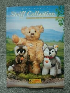 The Great Steiff Collection 2000 Colour Catalogue Magazine