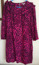 Juicy Couture 100% Silk Pink Dress UK8