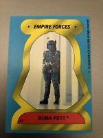 1980 Topps Star Wars Empire Strikes Back Stickers Boba Fett Card #57