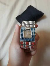 Preloved Enrico Coveri Embellished Watch