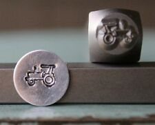 SUPPLY GUY 7mm Farming Tractor Metal Punch Design Stamp SGCH-108