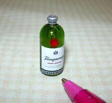 Miniature Single Liquor Bottle For the DOLLHOUSE Bar #16, 1/12 Scale Miniatures