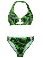 Nylon Briefs Bikini Sets for Women