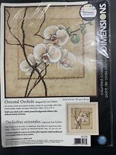 Dimensions Counted Cross Stitch Kit #35176 - Oriental Orchids NEW