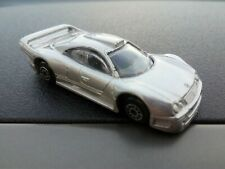 Maisto Mercedes-Benz CLK-GTR Street Version  Silver 1:64 Scale