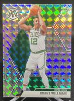 Grant Williams 2019-20 Panini Mosaic Prizm Silver Boston Celtics Rookie RC
