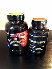 Nitro MXS Maximus NO Xtreme Ion & Ht Rush Testosterone Booster Test-Max Genuine