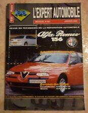 revue technique l'expert automobile l'ea N°381 ALFA ROMEO 156 + FICHES TECHNIQUE