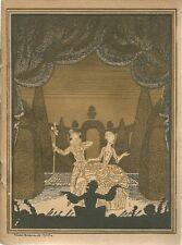 PROGRAMME DU THEATRE NATIONAL DE L'OPERA COMIQUE 1930-1931 - CARMEN
