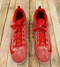 Nike FastFlex Vapor Shark 3 Football Cleats Shoes Red Men's *New* Size 13.5