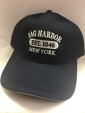 Sag Harbor Resort Hat New York Navy Blue Adjustable New