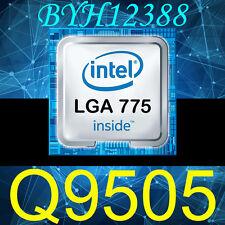 Intel Core 2 Quad Q9505 CPU procesador 2.83 GHz LGA775 es mejor que Q9500