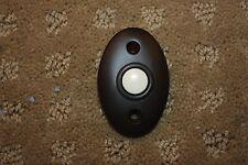 Bronze doorbell button decorator Baldwin Emtek Nutone doorbell chime LOT AVAIL