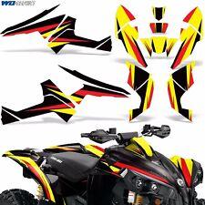 Graphic Kit CanAm Renegade X/R ATV Quad Decals Wrap Can Am 500/800/1000 Parts R