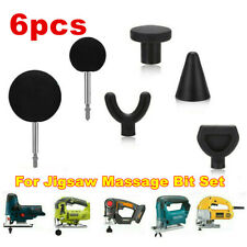 Percussion Massage 6pcs Tip Bit For Jigsaw Massager Adapter Attachment Worx Kit