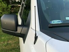 """9"""" Black Stainless Antenna Mast Power Radio AMFM for FORD F-150 2009-2020 New"""