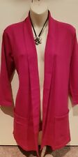 BNWT MILLERS GORGEOUS SOFT FUCHSIA PINK CARDIGAN-SIZE S (fit 12-14)