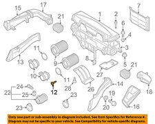 AUDI OEM 08-12 R8 4.2L-V8 Air Cleaner Intake-Air Mass Sensor MAF Screw N90739703