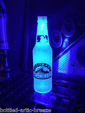 Mlb Colorado Rockies Baseball 12 oz Beer Bottle Light Led Neon Bar Pub Mens