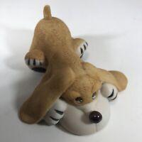 Vintage Russ Berrie & Co Porcelain Dog  Figurine # 5591